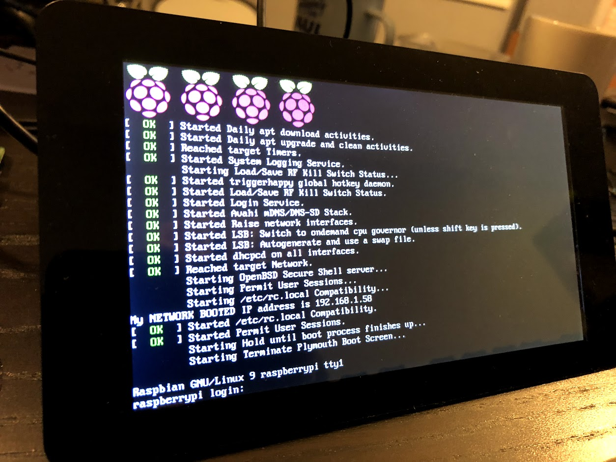 Network Booting a Raspberry Pi 3 from an Ubuntu Server